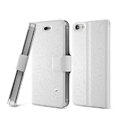 IMAK Slim leather Case support Holster Cover for iPhone 6 - White