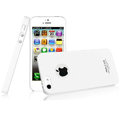 IMAK Ultrathin Matte Color Covers Hard Cases for iPhone 6 - White (High transparent screen protector)