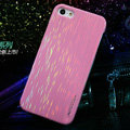 Nillkin Dynamic Color Hard Cases Skin Covers for iPhone 6 - Pink (High transparent screen protector)