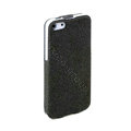 ROCK Eternal Series Flip leather Cases Holster Covers for iPhone 6 - Black