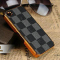 Luxury LV LOUIS VUITTON Ultrathin Metal edge Hard Back Cases Covers for iPhone 6 Plus - Grey