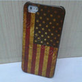Retro USA American flag Hard Back Cases Covers Skin for iPhone 6 Plus