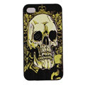 Skull Hard Back Cases Covers Skin for iPhone 6 Plus - Green