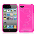 iPEARL Silicone Cases Covers for iPhone 6 Plus - Rose