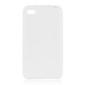 s-mak Color covers Silicone Cases For iPhone 6 Plus - White