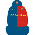 Personalized Embroidery FC Barcelona Universal Auto Car Seat Cover Sets 10pcs - Blue