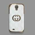 GUCCI leather Case Hard Back Cover for Samsung Galaxy Note 4 N9100 - White