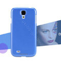 Nillkin Colourful Hard Case Skin Cover for Samsung Galaxy Note 4 N9100 - Blue (High transparent screen protector)