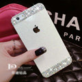 Classic Swarovski Bling Rhinestone Case Diamond Cover for iPhone 6 Plus - White