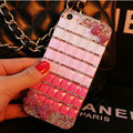 Funky Swarovski Bling Rhinestone Case Bowknot Diamond Cover for iPhone 6 - Pink