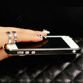 Swarovski Bling Crystal Metal Bumper Frame Case Cover for iPhone 6 - Black