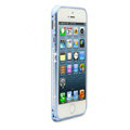 Swarovski Bling Diamond Ultrathin Metal Bumper Frame Case Cover for iPhone 6 - Blue