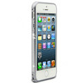 Swarovski Bling Diamond Ultrathin Metal Bumper Frame Case Cover for iPhone 6 - Gray