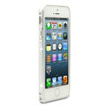 Swarovski Bling Diamond Ultrathin Metal Bumper Frame Case Cover for iPhone 6 - Silver