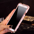Swarovski Bling Metal Bumper Frame Case Diamond Cover for Samsung GALAXY Note III 3 N9000 - Pink