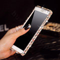 Swarovski Bling Metal Bumper Frame Case Diamond Cover for Samsung GALAXY S4 I9500 SIV - Color White