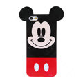 Cartoon Mickey Mouse Covers Hard Back Cases Disney Shell for iPhone 6 Plus 5.5 - Red