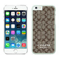 Cool Coach Covers Hard Back Cases Protective Shell Skin for iPhone 6 Plus 5.5 - White