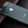 Luxury Aluminum Alloy Metal Bumper Frame Covers + PC Back Cases for iPhone 6 Plus 5.5 - Black