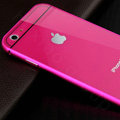 Luxury Aluminum Alloy Metal Bumper Frame Covers + PC Back Cases for iPhone 6 Plus 5.5 - Rose
