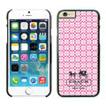 Plastic Coach Covers Hard Back Cases Protective Shell Skin for iPhone 6 Plus 5.5 Pink - Black