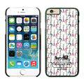 Plastic Coach Covers Hard Back Cases Protective Shell Skin for iPhone 6 Plus 5.5 White - Black