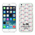 Plastic Coach Covers Hard Back Cases Protective Shell Skin for iPhone 6 Plus 5.5 White - White