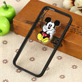 TPU Cover Disney Mickey Mouse Silicone Case Skin for iPhone 6 Plus 5.5 - Black