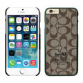 Unique Coach Covers Hard Back Cases Protective Shell Skin for iPhone 6 Plus 5.5 - Black