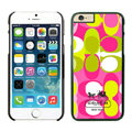 Unique Coach Covers Hard Back Cases Protective Shell Skin for iPhone 6 Plus 5.5 Pink - Black
