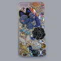 Bling Swarovski crystal cases Fox diamond cover for iPhone 6S - Blue
