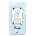 Brand Deer Covers Plastic Back Cases Cartoon Polka Dot for iPhone 6S - Blue