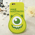 Cute Cartoon Cover Disney Mike Wazowski Silicone Cases Skin for iPhone 6S - Green