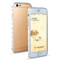 Swarovski Bling Crystal Ultrathin Metal Bumper Frame Case Cover for iPhone 6S - Silver