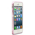 Swarovski Bling Diamond Ultrathin Metal Bumper Frame Case Cover for iPhone 6S - Pink