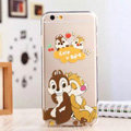 TPU Cover Disney Dale Silicone Case Minnie for iPhone 6S - Transparent
