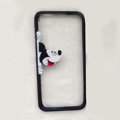 TPU Cover Disney Mickey Mouse Look Transparen Silicone Case for iPhone 6S - Black