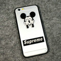 TPU Cover Disney Mickey Mouse Silicone Case Supreme for iPhone 6S - Transparent