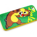 Cartoon Cover Disney Cute Silicone Cases Skin for iPhone 7 - Green