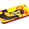 Cartoon Cover Disney Cute Silicone Cases Skin for iPhone 7 - Yellow