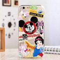 TPU Cover Disney Mickey Mouse Silicone Case Minnie for iPhone 7 - Transparent