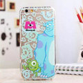 TPU Cover Sulley Silicone Case Minnie for iPhone 7 - Transparent