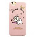 Brand Marie Cat Covers Plastic Back Cases Cartoon Cute for iPhone 6 4.7 - Pink