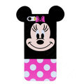 Cute Minnie Mouse Covers Hard Back Cases Disney Shell for iPhone 6 4.7 - Rose