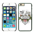 Floral Coach Covers Hard Back Cases Protective Shell Skin for iPhone 6 4.7 Skull - Black