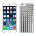 Plastic Coach Covers Hard Back Cases Protective Shell Skin for iPhone 6 4.7 Black - White