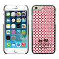 Plastic Coach Covers Hard Back Cases Protective Shell Skin for iPhone 6 4.7 Red - Black