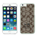 Unique Coach Covers Hard Back Cases Protective Shell Skin for iPhone 6 4.7 - White
