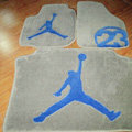 Jordan Tailored Trunk Carpet Cars Flooring Mats Velvet 5pcs Sets For Subaru WRX - Beige