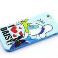 Cartoon Cover Disney Donald Duck Silicone Cases Skin for iPhone 6S Plus 5.5 - Blue